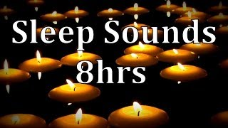 8hrs Natural Rain Sounds With Of Floating Candles Get To Sleep Fast