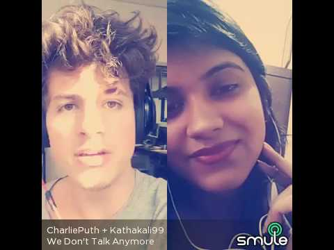 We don't talk anymore (Cover)  by Charlie Puth (Professional)  & Kathakali Banerjee (Amateur)