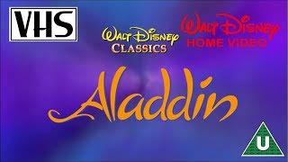 Opening To Aladdin UK VHS (1994)
