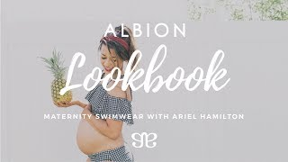Maternity Friendly Swimsuits With Albion Fit And Ariel Hamilton