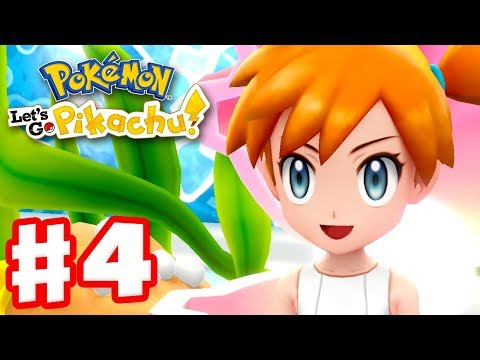 Pokemon Let's Go Pikachu and Eevee – Gameplay Walkthrough Part 4 – Gym Leader Misty!