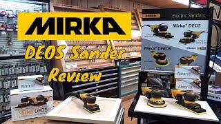 Mirka DEOS 383CV and Mirka DEOS 353CV Sander Demonstration Video