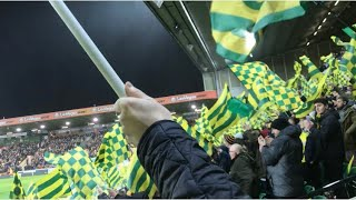 NORWICH 1-0 SWANSEA | EPIC MATCHDAY EXPERIENCE | LOUD ATMOSPHERE, VITAL WIN