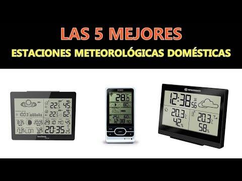 Mejores Estaciones Meteorológicas Domésticas 2018