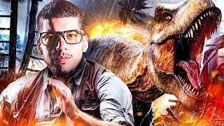 DINOSAUR THEME PARK!! (Jurassic World Evolution)