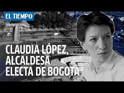 ¿Quien es Claudia Lopez, la nueva alcaldesa de Bogota?