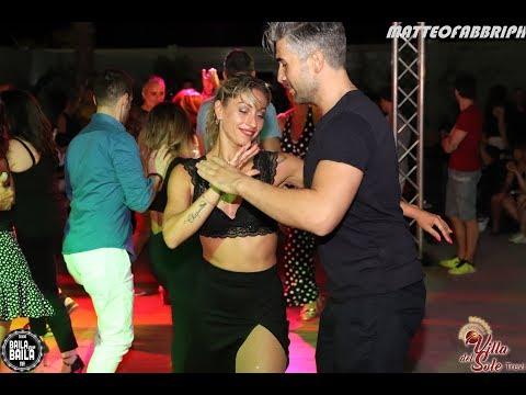 Samantha Laurenzi & Massy Pioly - bailando Parecen Viernes #OPUS | Villa del Sole (Trevi - Italy)
