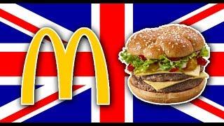 Trying British McDonalds (London, England)