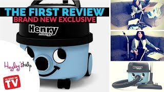BRAND NEW NUMATIC HENRY ALLERGY VACUUM REVIEW, UNBOXING 2018