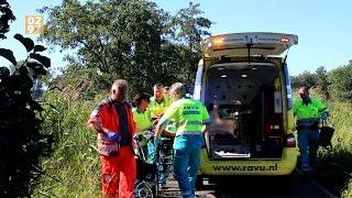 Vrouw ernstig gewond na aanrijding met tractor Wilnis