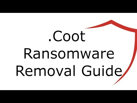.Coot File Virus Ransomware Removal Guide