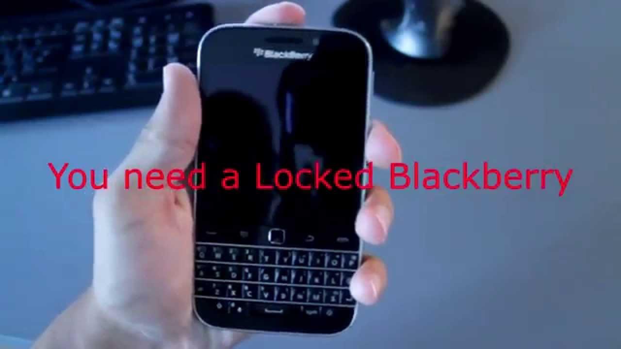 Unlock Blackberry CLASSIC by Unlock Code