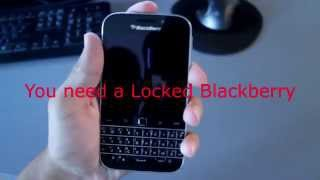 How to unlock Bell Blackberry Classic and use it with any network including WIND!
