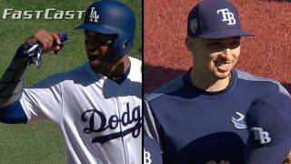 MLB.com FastCast: Kemp, Snell hit milestones - 9/23/18 - Video Youtube