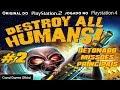 Destroy All Humans ps2 No Ps4 Detonado 2