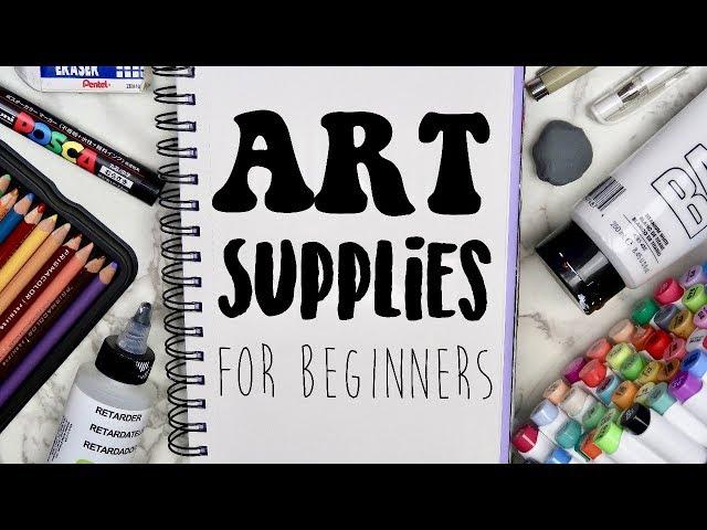 The BEST Art Supplies for Beginners! (2019) My favorite art supplies! 🎨
