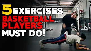 Top 5 Basketball Strength Exercises That Basketball Players SHOULD Be Doing!