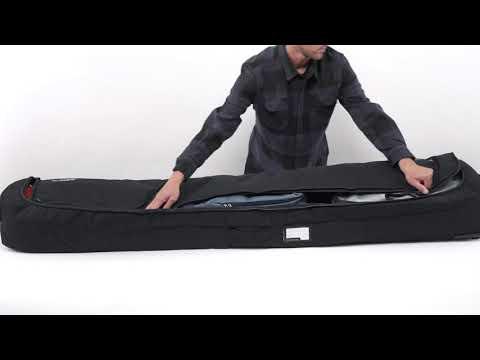 Dakine Fall Line Ski Roller Bag - die praktische Skitasche mit rundum Polsterung