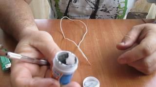 Тест пасты мechanic с сайта AliExpress