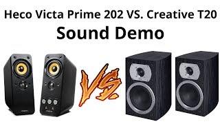 Heco Victa Prime 202 VS Creative Gigaworks T20 Sound Demo