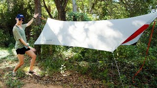 How To Hammock Camp Ft. The Kammok Mantis All-In-One Hammock Tent (Review)