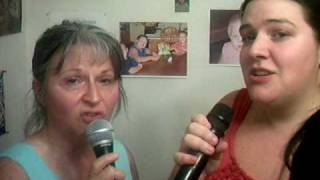 When I Reach the place i'm going-Judds cover by Amanda Rose and Mama Petra