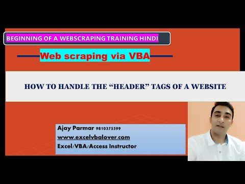 Download Import Data From The Web Into Excel Video 3GP Mp4 FLV HD