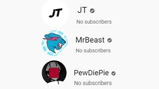 "Every YouTuber Had ""0 Subscribers"" (YouTube Is Broken)"