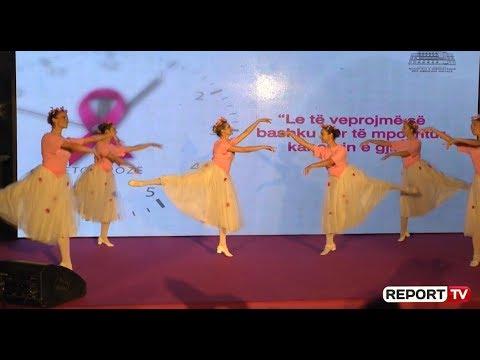 Tetori rozë/ Koncert në sheshin 'Skëndërbej', Manastirliu: Në 3 javë, 3000 gra kanë bërë mamografisë