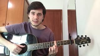 ANAVITÓRIA, Vitor Kley   Pupila (vídeo Aula Violão)   TUTORIAL   CIFRA