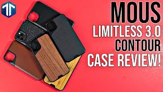 Mous Limitless 3.0 & Contour Case Review for the iPhone 11 Pro Max!