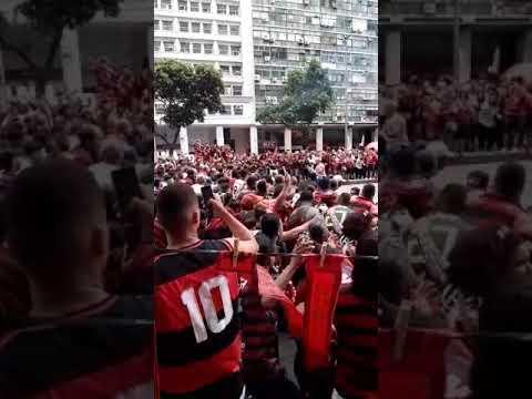 Flamengo Campeão da Libertadores Av Presidente Vargas(1)