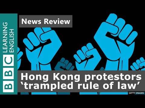 Hong Kong protestors 'trampled the rule of law' - News Review