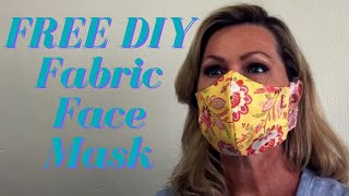 FREE In-the-hoop Embroidery Fabric Mask Design & Tutorial (DIY Project)