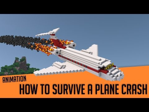 Download How To Survive A Plane Crash - Minecraft Animation HD Mp4 3GP Video and MP3