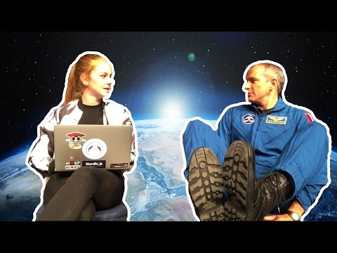 Asking an astronaut inappropriate questions