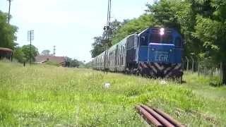 preview picture of video 'GM GT-22CW #A920 ingresando a La Banda con el adicional del Tren Nº265 (14-01-15)'