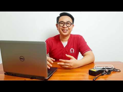 Ulasan Dell Latitude E7240 | Laptop murah 3 jutaan 2019 | Kencang dan ringan!