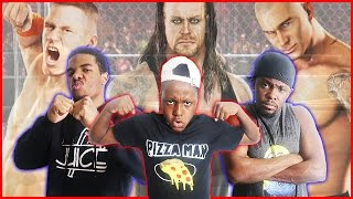 3 WAY BROTHER CAGE MATCH! - Smack Down vs Raw 2011 Gameplay   #ThrowbackThursday