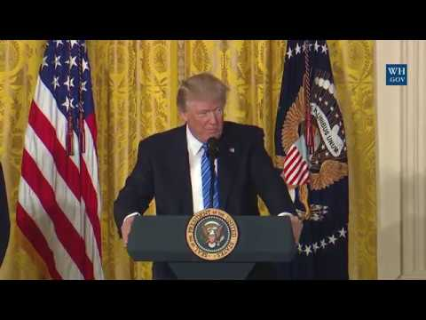 President Trump Signs the VA Accountability and Whistleblower Protection Act of 2017
