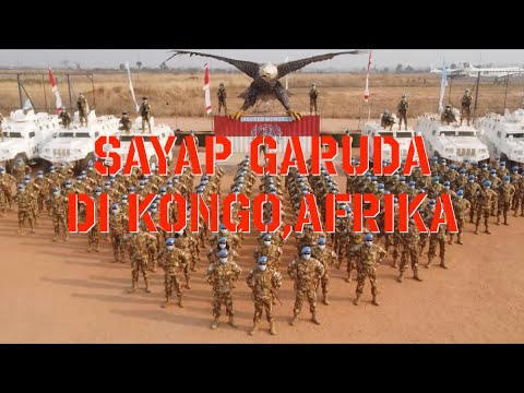 sayap garuda di tanah kongo afrika