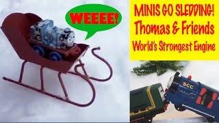 Thomas & Friends Minis Go Sledding - World's Strongest Engine
