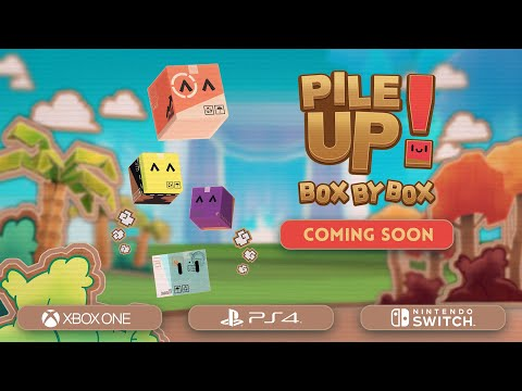 Pile Up! Box by Box : Pile Up! Box by Box // Console Release Announcement Trailer