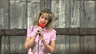 "Heather Thomas Van Deren sings Jimmy Fortune's Southern Gospel song ""I Believe"""