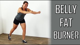 Cardio Workout to Lose Belly Fat – 20 Minute Belly Fat Burning Cardio Exercises at Home by FitnessType