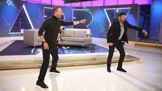 The Harry vs Donnie Wahlberg Throwdown-off!