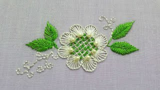 An Easy And Beautiful Hand Embroidery Pattern For Beginners