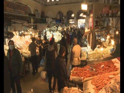 Καθαρά Δευτέρα στη Βαρβάκειο Αγορά