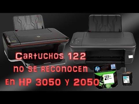 Los cartuchos 122 no se reconocen en la HP 3050 y 2050 Resueltos.