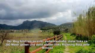 preview picture of video 'Wanderung Valledoria-Baia delle Mimose'